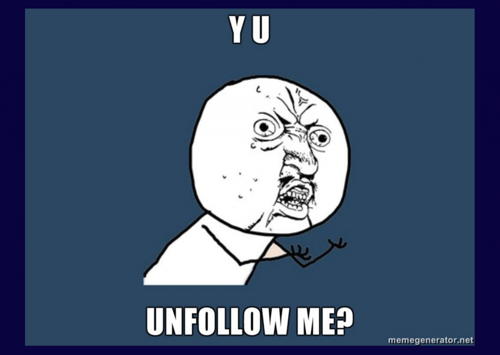 When Unfollowing a Business on Social Media is Good Business